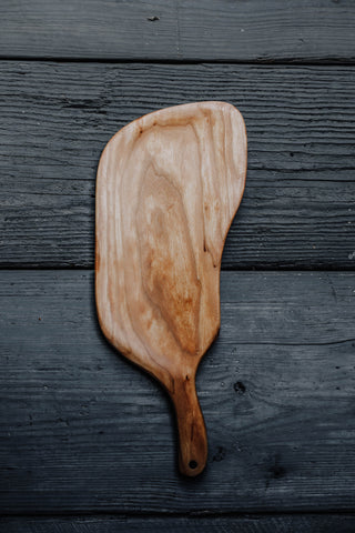 460. Handmade maple wood serving board for cheese and crackers by Lin Babb of Linwoodco.com
