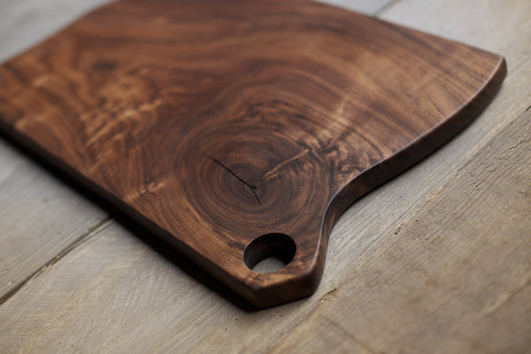 92. Extra Large Black Walnut Wood Handcrafted Cutting Board