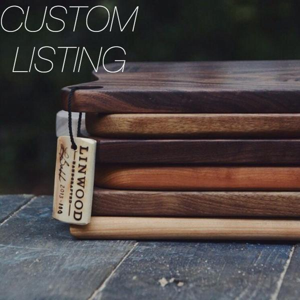 CUSTOM LISTING 539. Cherry Wood Spoon for Caleb
