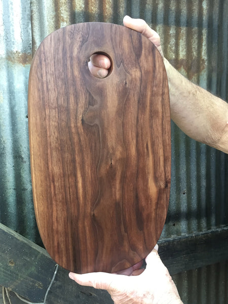 CUSTOM LISTING 380. Walnut Wood Cutting Board