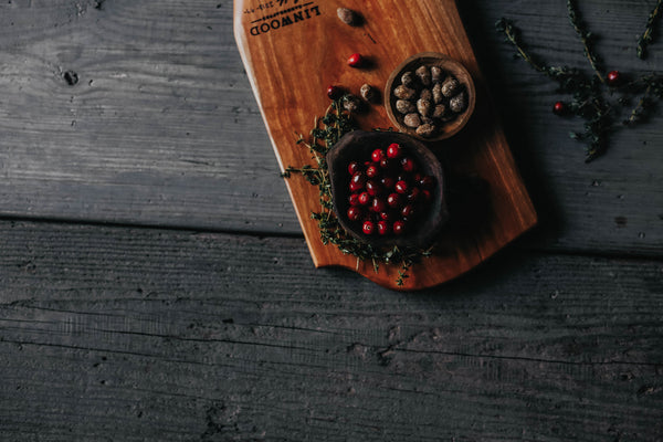 97. Carved Cherry Cutting Board