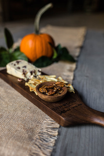 376. Black Walnut Serving Board