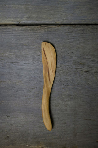 17. Handmade Cherry Wood Spreading Knife by Lin Babb of Linwood