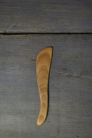 15. Handmade Cherry Wood Spreading Knife by Lin Babb of Linwood