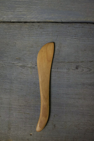 16. Handmade Cherry Wood Spreading Knife by Lin Babb of Linwood