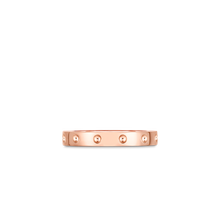 Load image into Gallery viewer, Roberto Coin 18 karat rose gold Symphony Pois Moi Ring