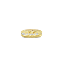 Load image into Gallery viewer, Roberto Coin 18 karat yellow gold Opera Diamond Band, D=0.58tw