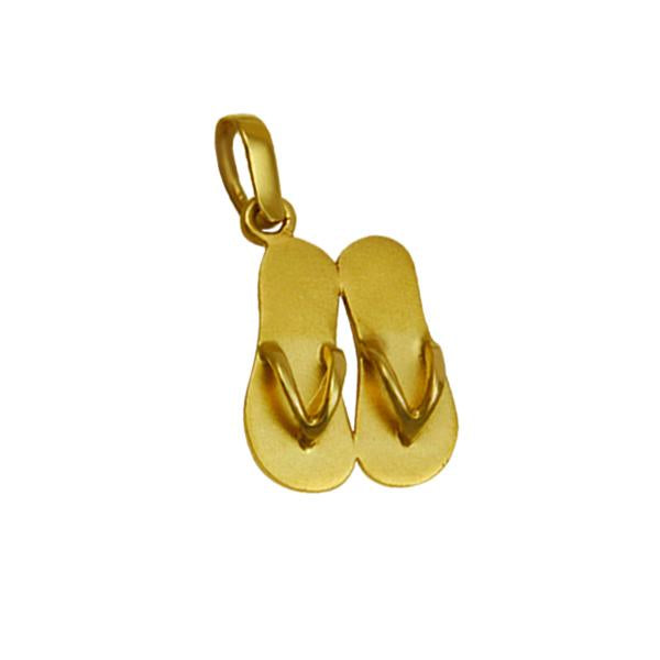 14k Yellow Gold Double