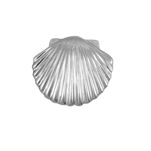 Sterling Silver Small Scallop Shell Pendant