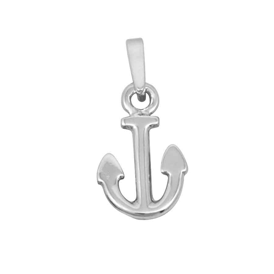 Sterling Silver Tiny Anchor Pendant