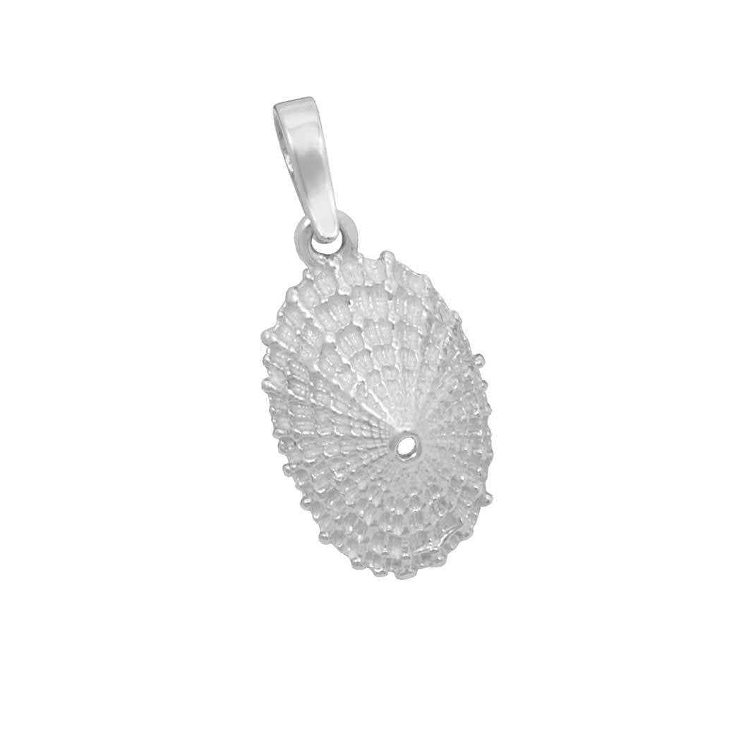 Sterling Silver Limpet Shell Pendant