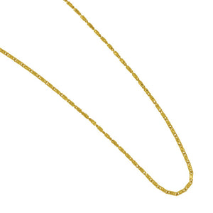 "14K Yellow Gold 18"" 1mm Raso Chain"