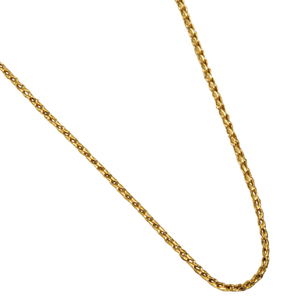 "14K Yellow Gold 18"" Open Franco Chain"