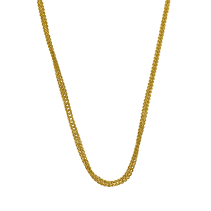 "14K Yellow Gold 18"" 1.2mm Singapore Foxtail Chain"