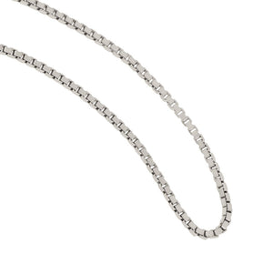 Sterling Silver 1.5mm Diamond Cut Bead Chain 18""