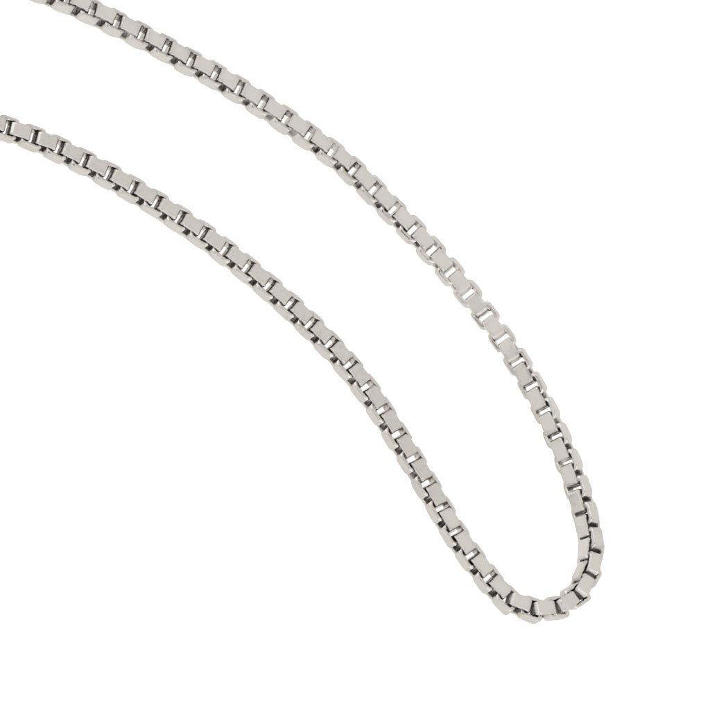 Sterling Silver 1.5mm Diamond Cut Bead Chain 18
