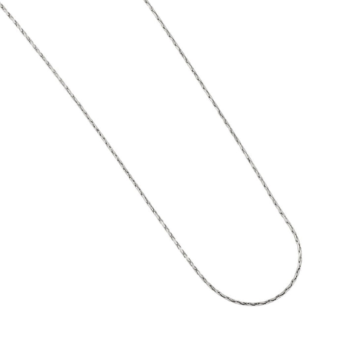 Sterling Silver .8mm Spark Chain 18
