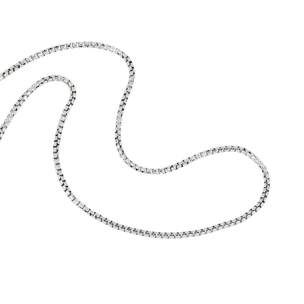 Sterling Silver 1.2mm Round Venetian Chain 18