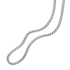 "Sterling Silver 24"" 3.2mm Round Franco Chain"