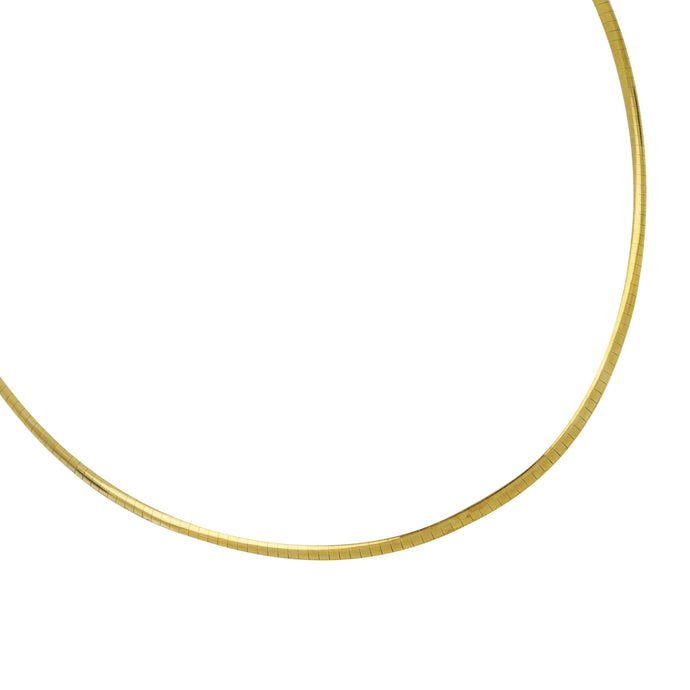 Sterling Silver/14K Yellow Gold 18