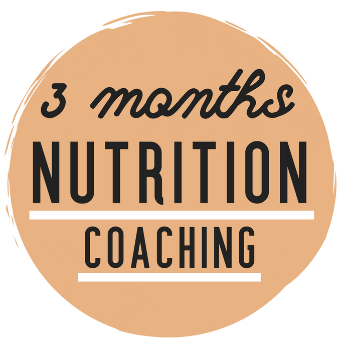 3-MONTH NUTRITION COACHING BUNDLE