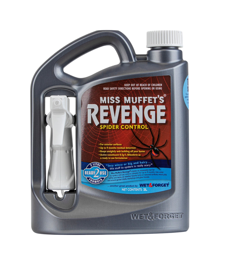 Miss Muffet's Revenge Spider Repellent 2L