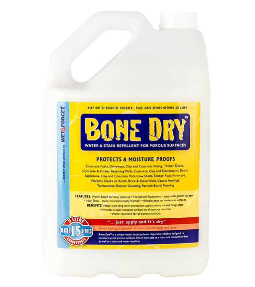 Bone Dry Sealant for Porous Surfaces 5L