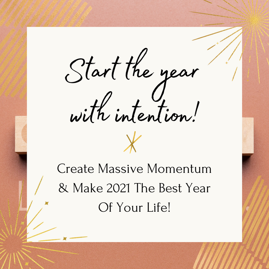 7 Day Start Your Year With Intention