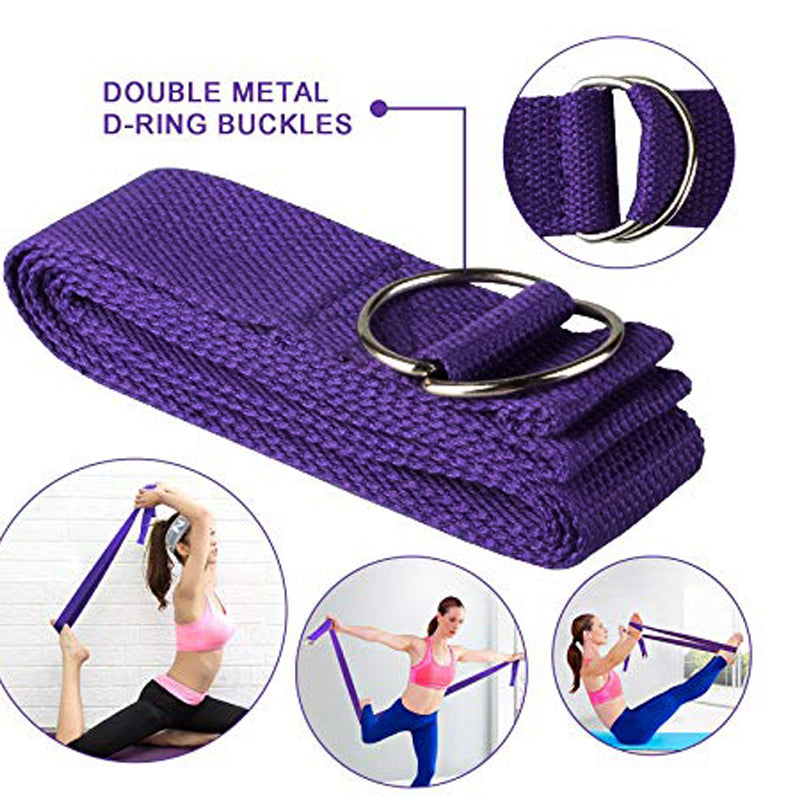 2 Foam Yoga Block & Strap (Available in 3 Colors)
