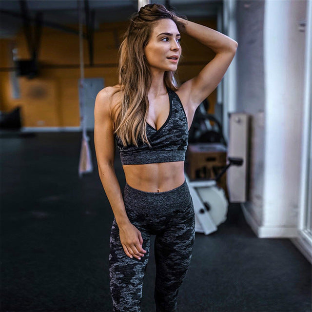 Camouflage Fitness Set (Available in 3 Colors)