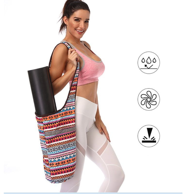 Yoga Mat Bag (Available in 4 Designs)