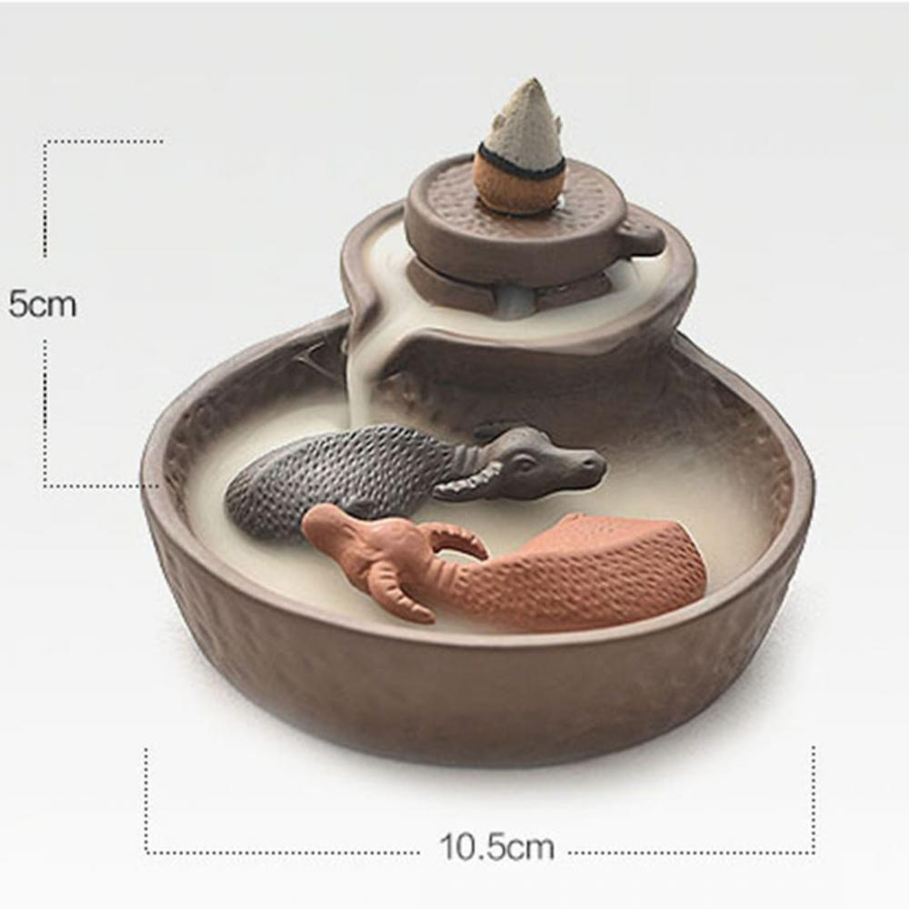 Dragon Waterfall Incense Holder