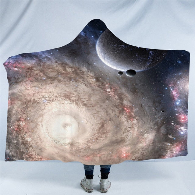 Moon Eclipse Hooded Blanket (Available in 4 Styles)