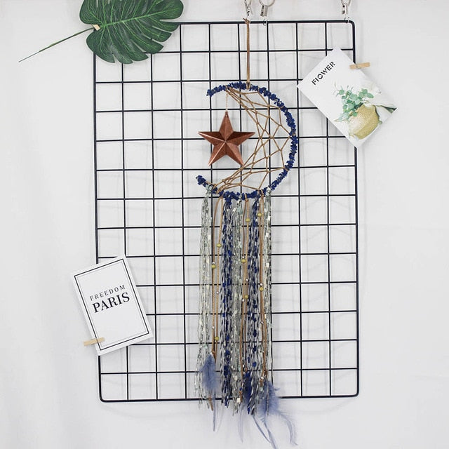 Crescent Star Dream Catcher