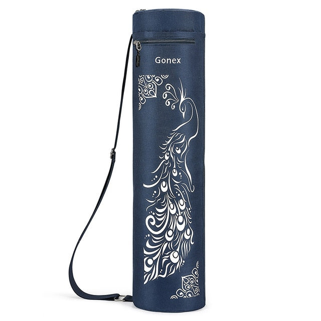 Blue Peacock Yoga Mat Bag