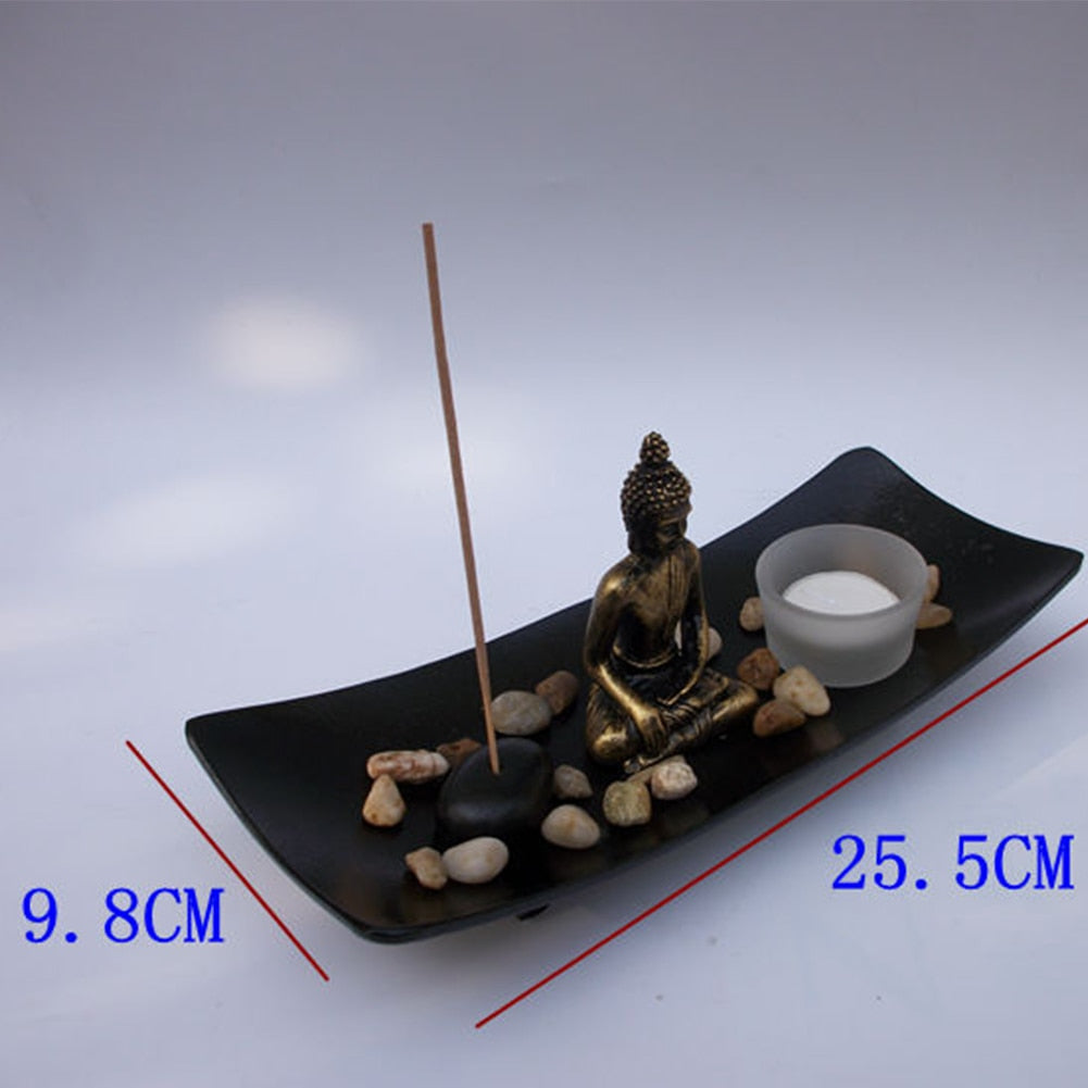 Buddha Candle & Incense Holder