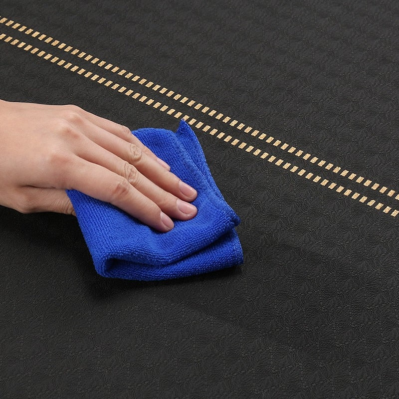 Golden Elephant Suede Yoga Mat With Bag (6mm)