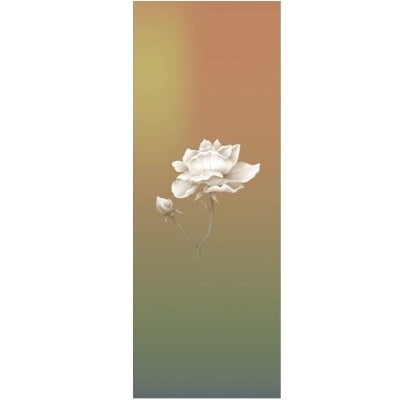 Ombre Flower Yoga Towel