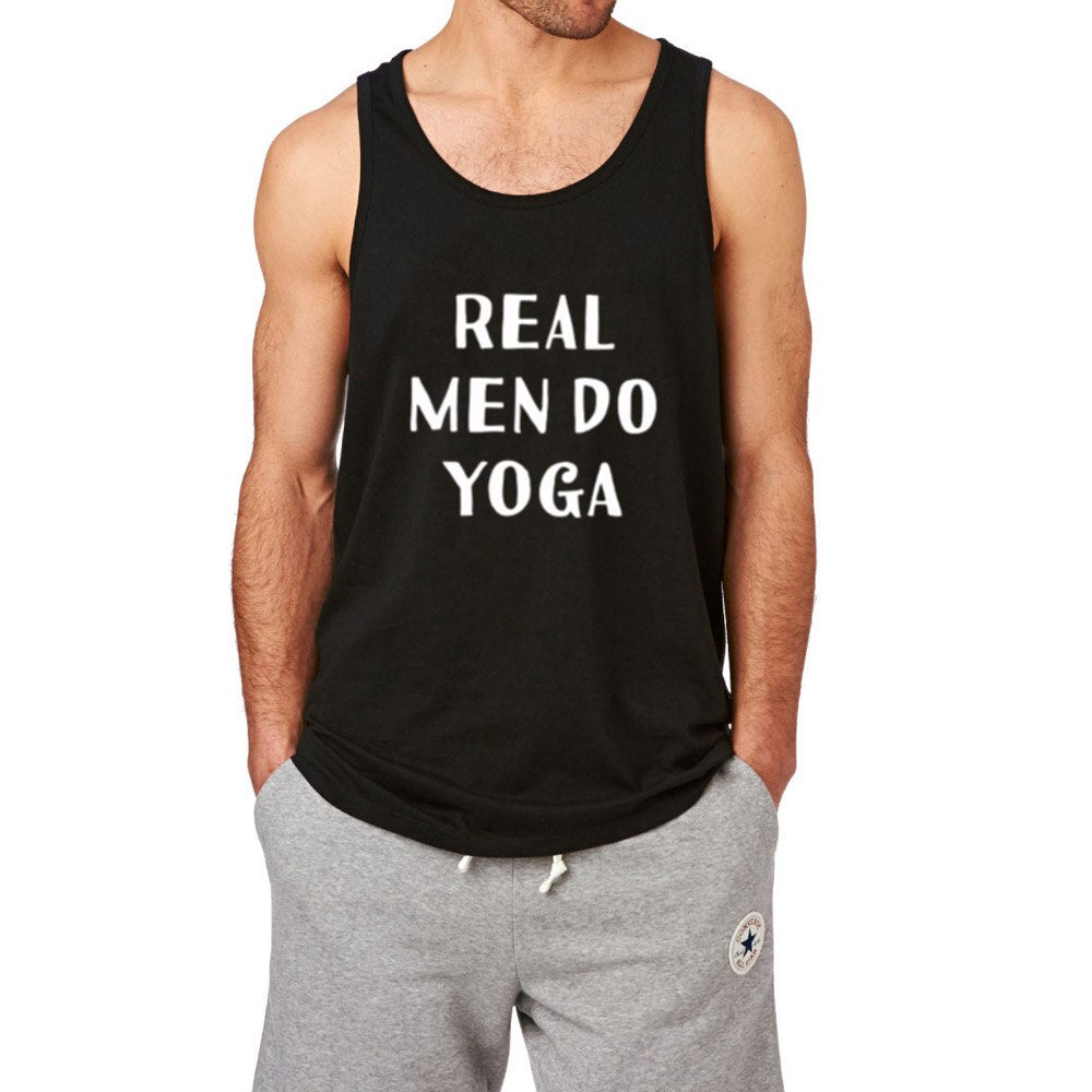 Real Men Do Yoga Tank Top