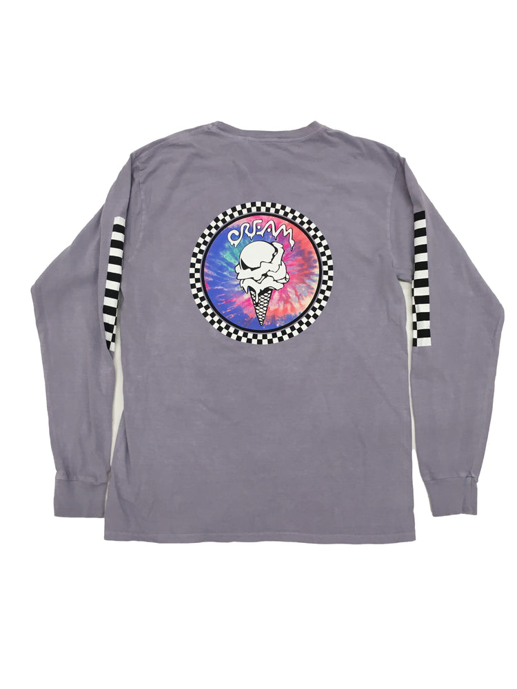 Load image into Gallery viewer, Checker Tie Dye Longsleeve