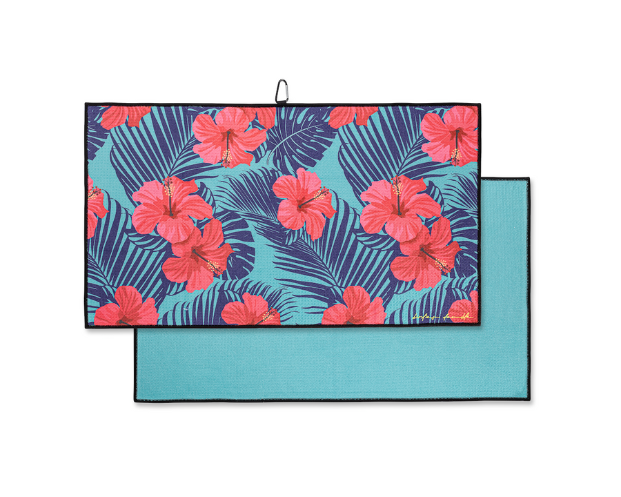 Tropical Hibiscus - Clip on towel