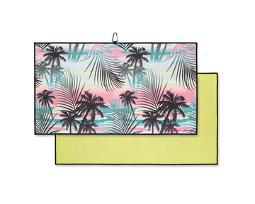 Sunset Palms - Clip on Towel