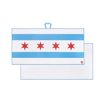 Chicago Flag - Players Towel