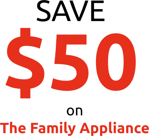 The Family Appliance deal text