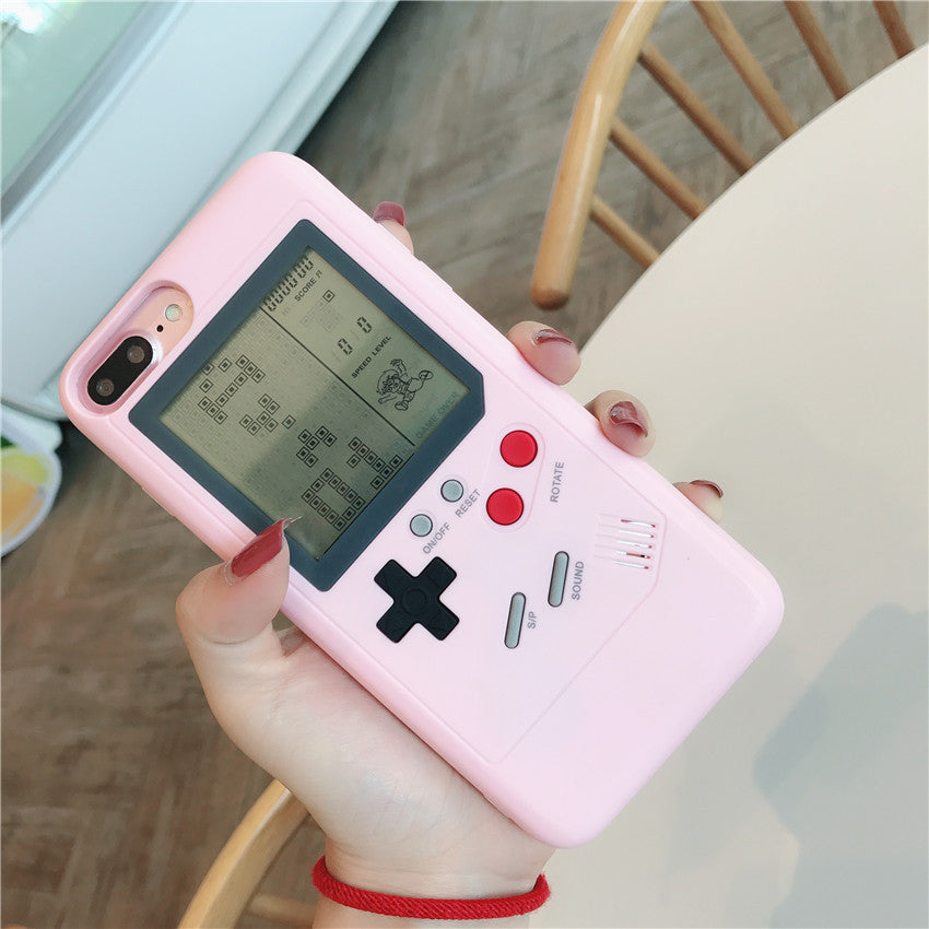 PLAYABLE RETRO GAMEBOY IPHONE CASE