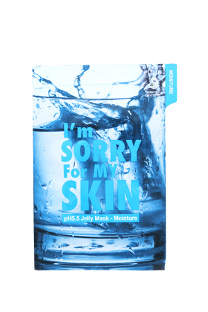 I'm SORRY for MY SKIN - pH5.5 Jelly Mask Moisture