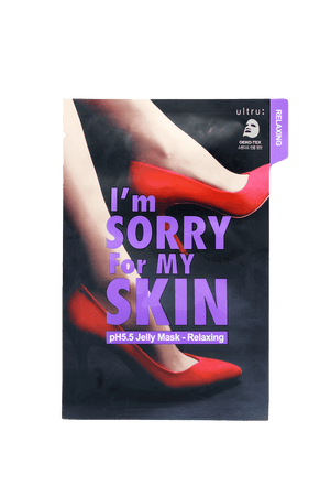 I'm SORRY for MY SKIN - pH5.5 Jelly Mask - 3 Pack