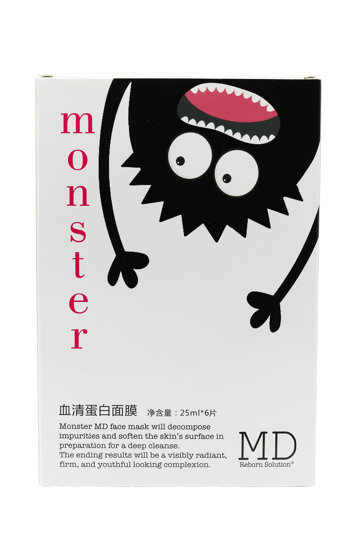 MD Reborn Solutions - MONSTER Mask box set of 6