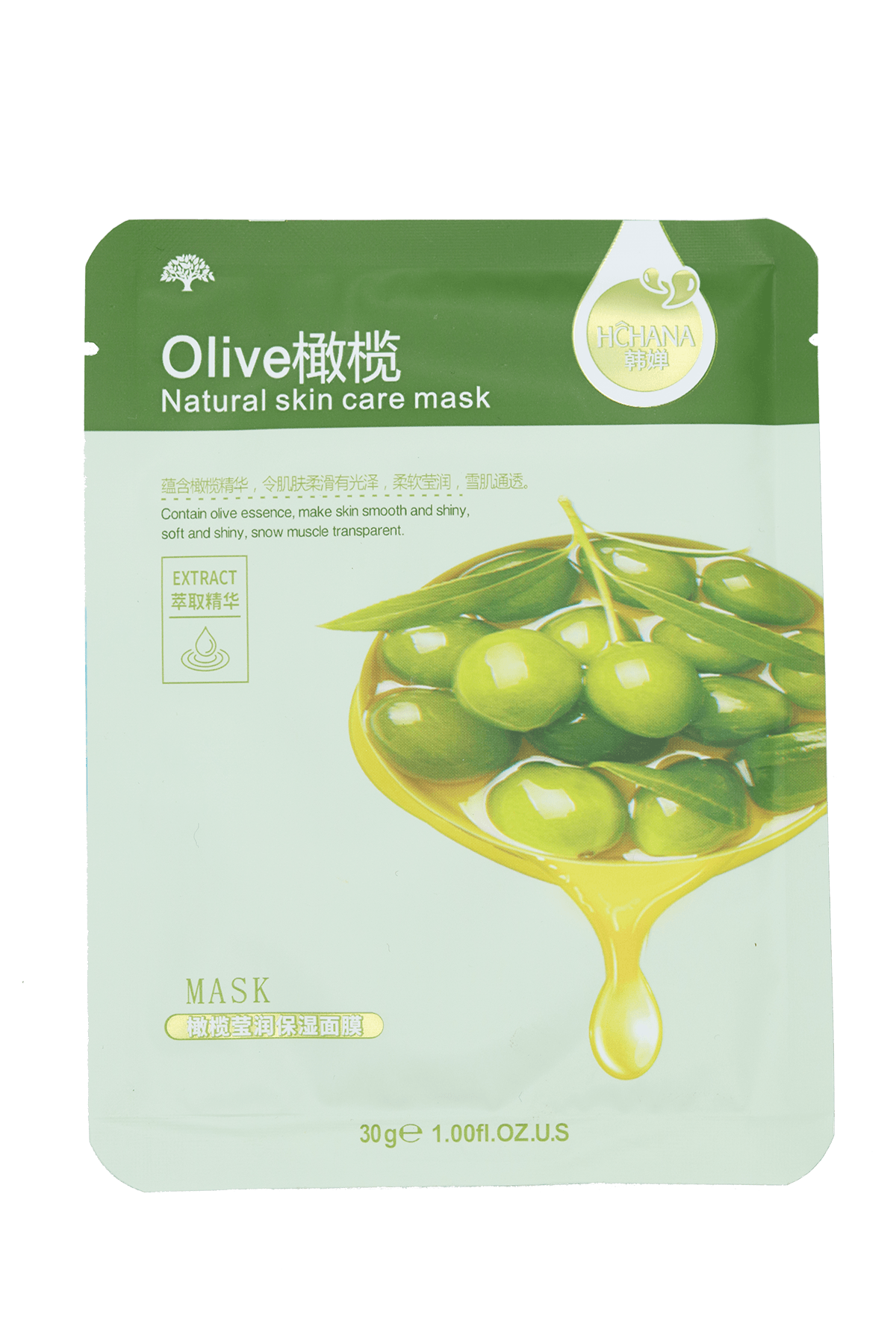 Miss K SKIN - Sheet Mask Olive