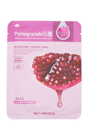 Miss K SKIN - Sheet Mask Pomegranate